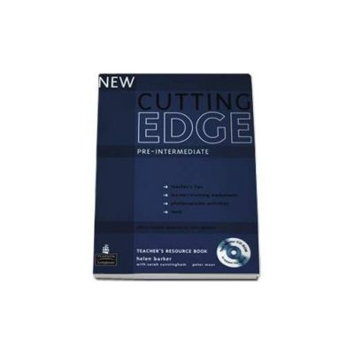 New Cutting Edge Pre-Intermediate Teachers Book with Test Master CD-ROM pack (Barker Helen)