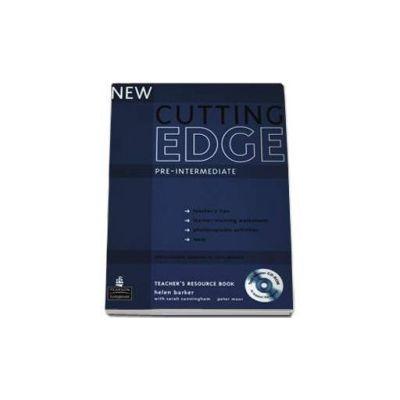 New Cutting Edge Pre-Intermediate Teachers Book with Test Master CD-ROM pack (Barker Helen)