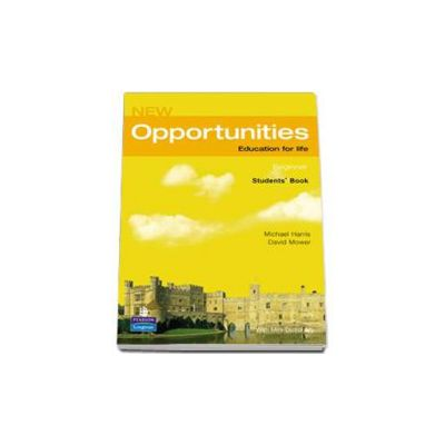Harris Michael, New Opportunities Beginner Students Book