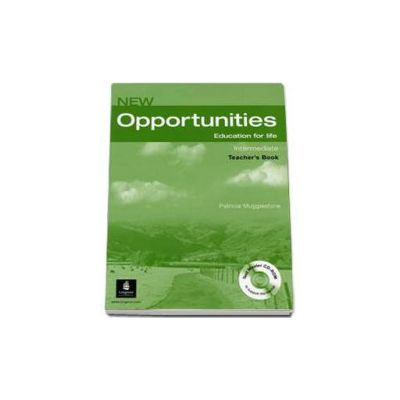 New Opportunities Intermediate Teachers Book with Master Test CD-Rom (Patricia Mugglestone)