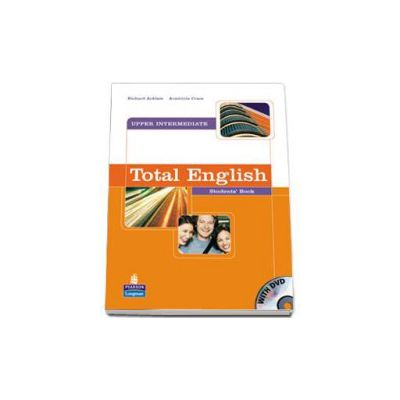 Richard Acklam, Total English Upper-Intermediate Students Book with DVD