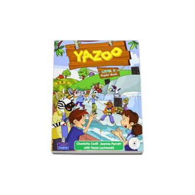 Yazoo level 3. Pupils Book with CD (Charlotte Covill)