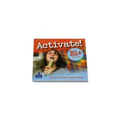 Barraclough Carolyn, Activate! B1 Plus. Class CD 1-2