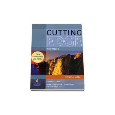 Cutting Edge Advanced level Students Book and CD-Rom pack - with phrase builder
