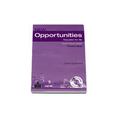 New Opportunities Upper Intermediate Teacher s Book with Master Test CD-Rom