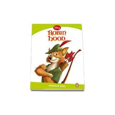 Robin Hood. Penguin Kids level 4 - Retold by Jocelyn Potter