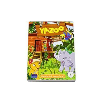 Charlotte Covill - Yazoo, level 1 Pupils Book with CD