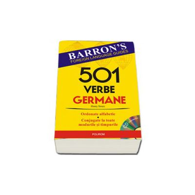 501 verbe germane - Contine CD