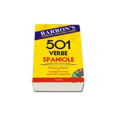 501 verbe spaniole. Contine CD