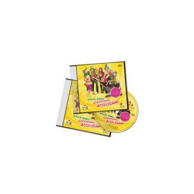 Gasca Zurli. Atentiune, acceleram - Cele mai iubite cantece ale copilariei (CD Audio)