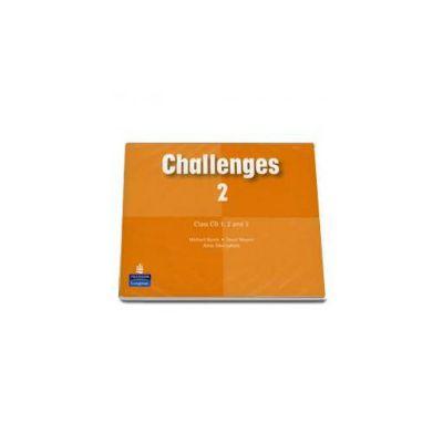 Michael Harris, Challenges level 2 class CD 1-3