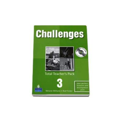 Melanie Williams, Challenges level 3. Total Teachers Pack and Test Master CD-Rom