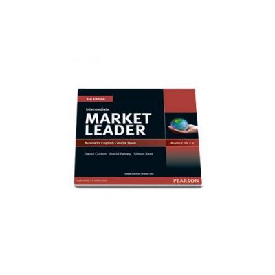 Kent Simon, Market Leader 3rd Edition Intermediate level. Cousebook Audio CD