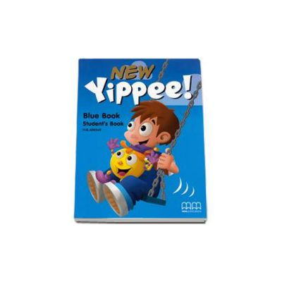 New Yippee! Blue Book Students Book with Stickers - H. Q. Mitchell