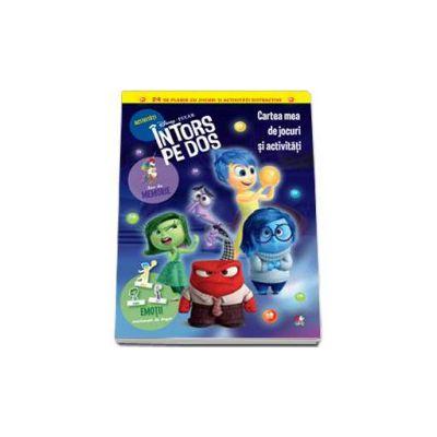 Disney, Intors pe dos. Cartea mea de jocuri si activitati - 24 de planse cu jocuri si activitati distractive - Editie cu coperti cartonate