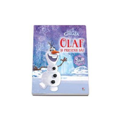 Disney - Olaf si prietenii sai. Regatul de gheata - Contine 32 de planse de colorat