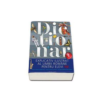 Dictionar explicativ ilustrat al limbii romane pentru elevi, pentru clasele V-VIII. Peste 9000 de cuvinte titlu, 2000 de ilustratii, include continut enciclopedic