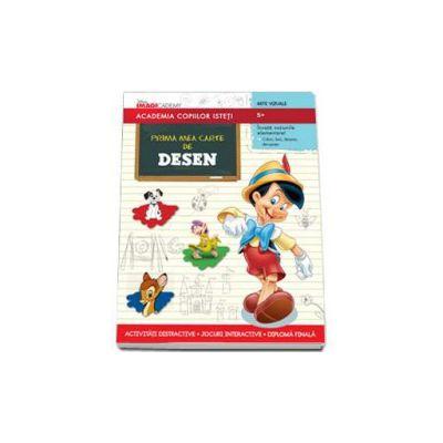 Disney, Prima mea carte de desen - Academia copiilor isteti
