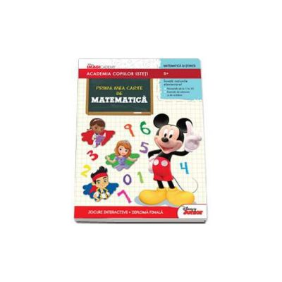 Disney, Prima mea carte de matematica - Academia copiilor isteti