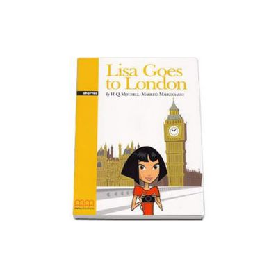 Lisa goes to London. Graded Readers Starter level - Original Story - pack with CD