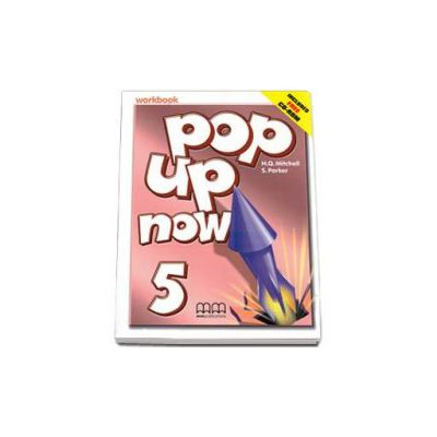 Mitchell H. Q., Pop Up Now level 5 Workbook with CD