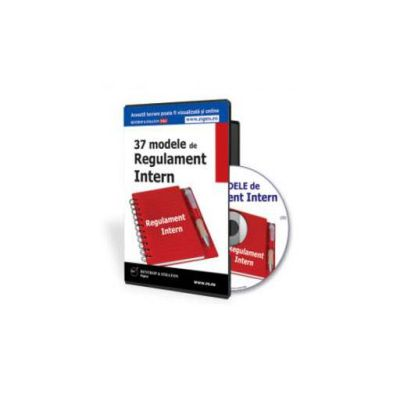 37 de Modele de Regulament intern - Format CD