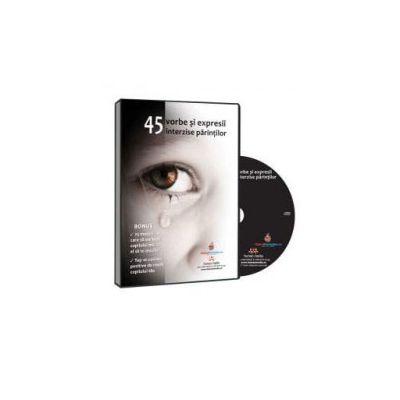 Cristina Niculescu, 45 de cuvinte si expresii interzise parintilor - Format CD