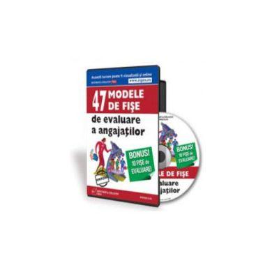 47 Modele de fise de evaluare a angajatilor - Format CD