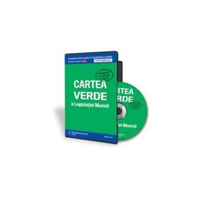 Gabriela Dita, Cartea verde a Legislatiei Muncii - Format CD