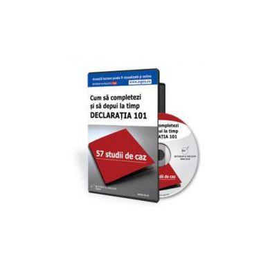 Cum sa completezi si sa depui la timp Declaratia 101 - Format CD