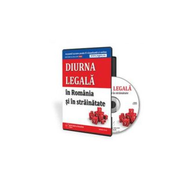 Diurna legala in Romania si in strainatate - Format CD