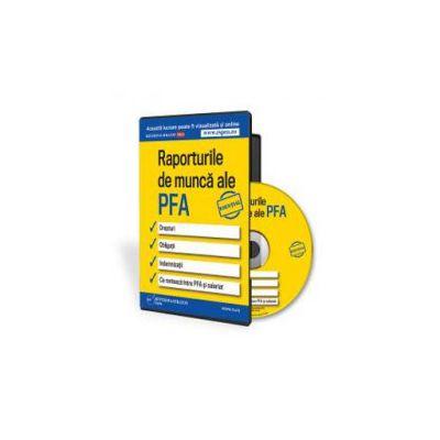 Rodica Mantescu, Raporturile de munca ale PFA - Format CD
