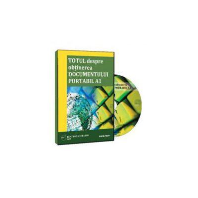 Rodica Mantescu, Totul despre obtinerea documentului portabil A1 - Format CD