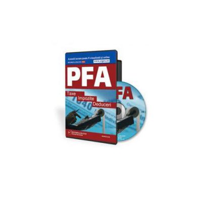 Horatiu Sasu, PFA: Taxe, Impozite si Deduceri - Format CD