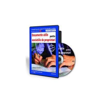 Irina Dumitrescu - Documente utile pentru asociatiile de proprietari - Format CD