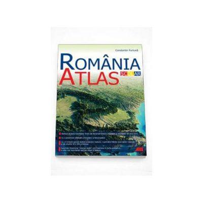 Constantin Furtuna - Romania, Atlas scolar