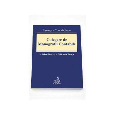 Adrian Benta, Culegere de Monografii contabile