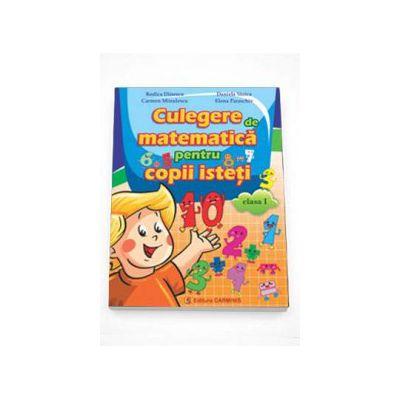 Rodica Dinescu, Culegere de matematica pentru copii isteti pentru Clasa I
