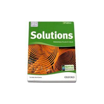 Tim Falla, Solutions 2nd Edition Elementary Student s Book