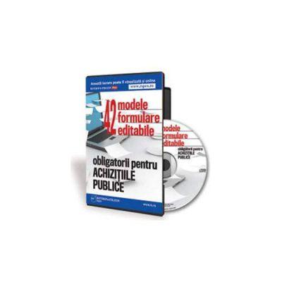 42 de formulare obligatorii pentru institutiile publice. Format CD