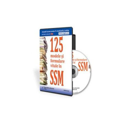 125 de modele si formulare vitale in SSM - Format CD