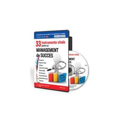 Flaviu Pop - 33 instrumente vitale pentru un management de succes - Format CD