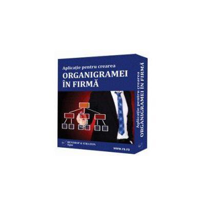 Aplicatie pentru crearea organigramei in firma. Format CD