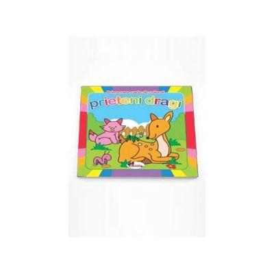 Prima mea carte de colorat Prieteni Dragi