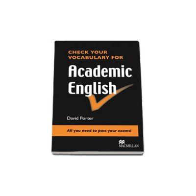 Check your vocabulary for Academic English (Level: Pre-intermediate to Intermediate)