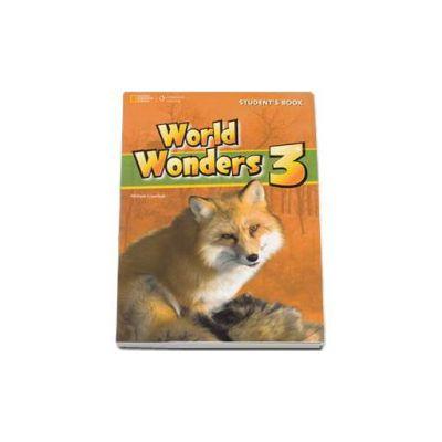 Curs de limba engleza World Wonders level 3 Students Book new editions, manual pentru clasa a VII-a cu CD - National Geographic Learning