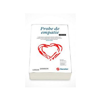 Leslie Jamison, Probe de empatie - Eseuri