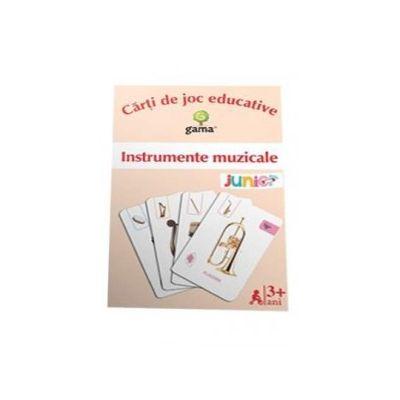 Instrumente muzicale - Carti de joc educative
