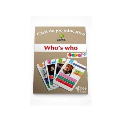 Who s who - Carti de joc educative