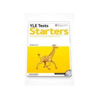 Cambridge Young Learners English Tests Starters Student Book - Includes audio CD (Petrina Cliff)